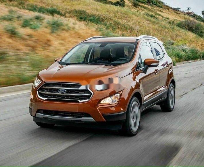 Bán ô tô Ford EcoSport đời 2021, màu cam, mới hoàn toàn0