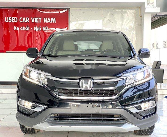 Bán Honda CR V 2.0AT năm sản xuất 2015, màu đen, biển TP0