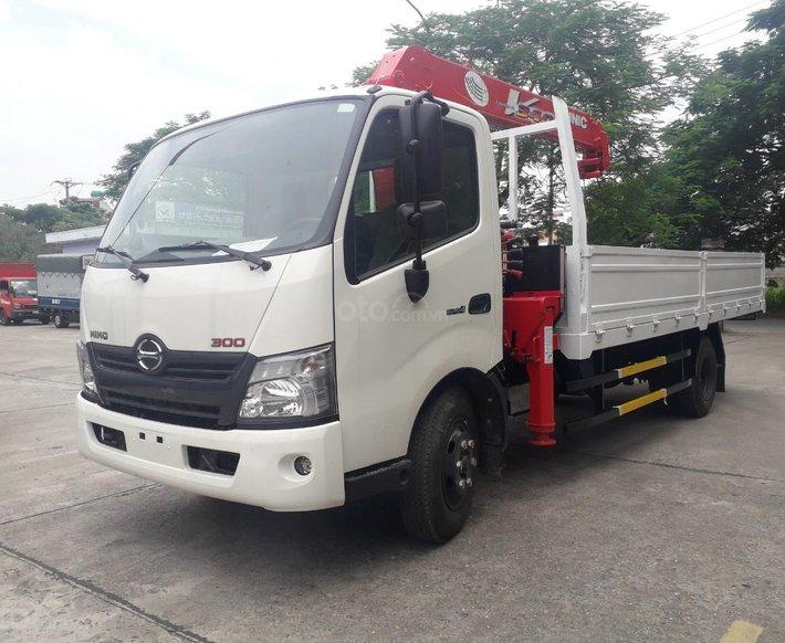 Xe Hino gắn cẩu 3.5 tấn - Hino 300 XZU7300