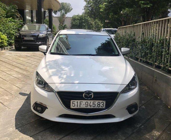 Bán Mazda 3 sản xuất 2016, màu trắng như mới, giá 515tr0