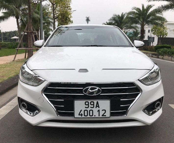 Bán xe Hyundai Accent sản xuất năm 2019, màu trắng, giá chỉ 390 triệu0