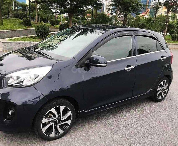 Bán Kia Morning sản xuất năm 2016, màu đen, nhập khẩu nguyên chiếc còn mới0