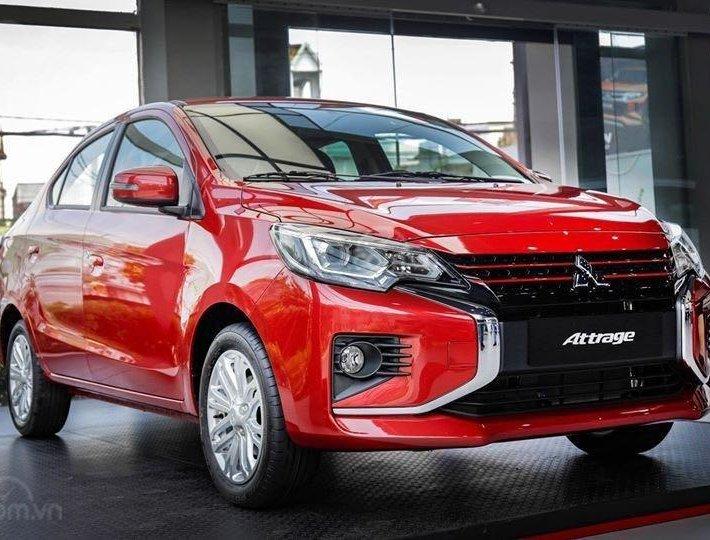 Bán xe Mitsubishi Attrage 2020 mới giá hỗ trợ thuế trước bạ siêu hấp dẫn, chỉ 140 triệu lấy xe, đủ màu sẵn xe giao ngay0