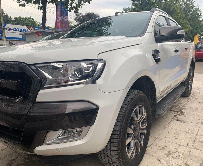 Bán Ford Ranger Wildtrak 3.2 đời 2016, đăng kí 3/2017, màu trắng, nhập khẩu 0