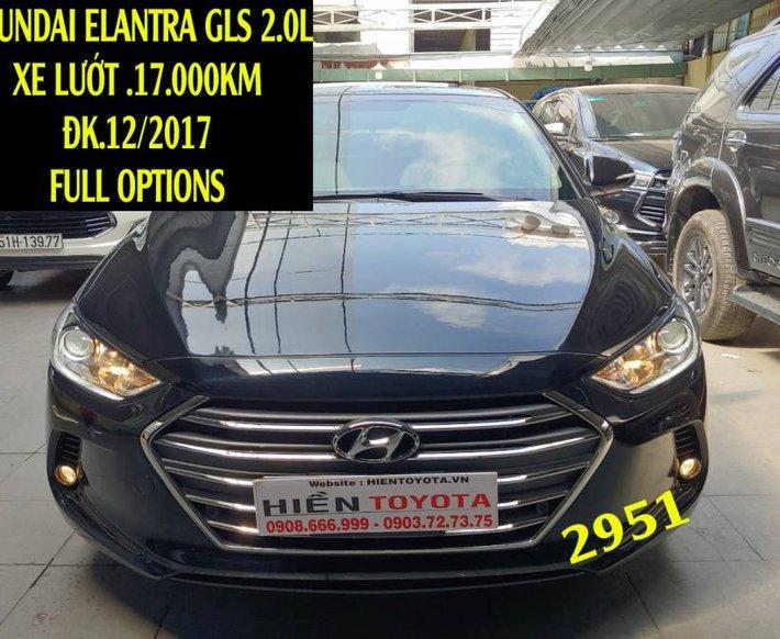 Bán Hyundai Elantra sản xuất năm 2017, màu đen như mới0