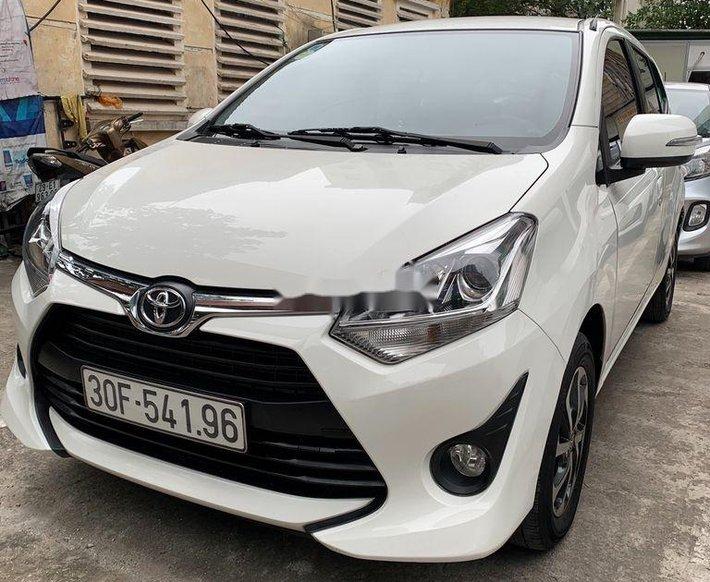 Cần bán lại xe Toyota Wigo sản xuất 2018, màu trắng, số sàn, 290tr0