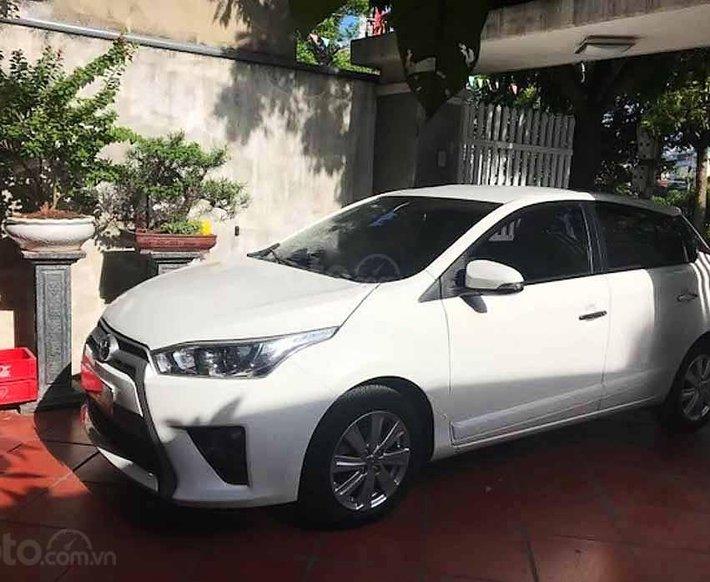 Bán Toyota Yaris năm sản xuất 2016, màu trắng, nhập khẩu nguyên chiếc còn mới, giá chỉ 500 triệu0