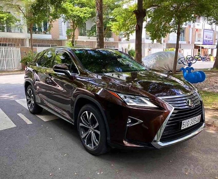 Bán Lexus RX sản xuất 2017, màu nâu, xe nhập còn mới0