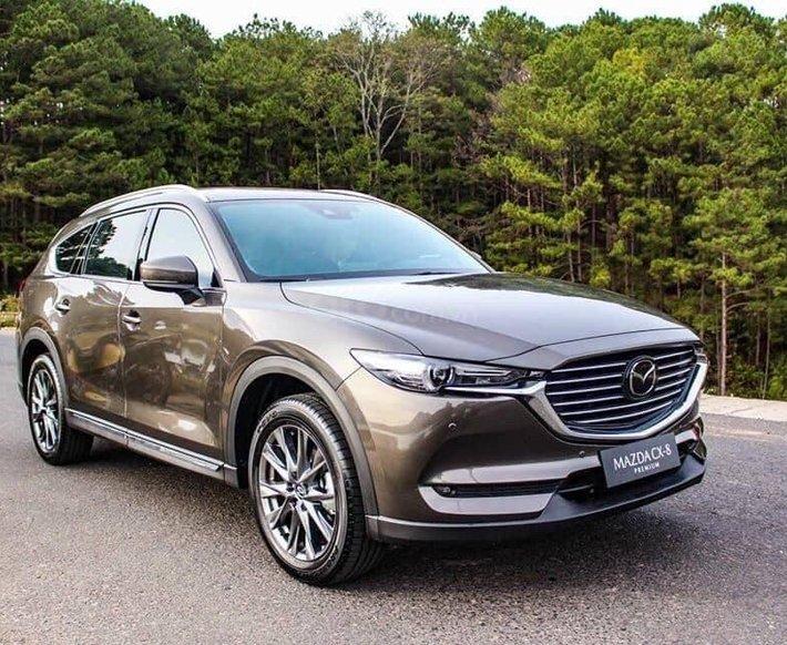 Mazda CX8 - ưu đãi siêu hot trong tháng - trả trước chỉ từ 300tr nhận xe ngay0