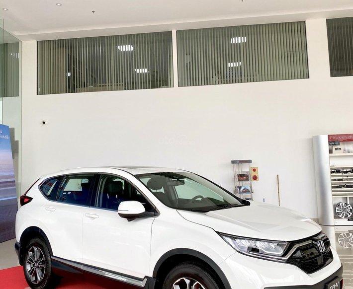 [Siêu ưu đãi] Honda CRV 2021 nâng cấp đáng giá - giảm tiền mặt cực khủng - hàng loạt phụ kiện chính hãng- trả góp 80% xe0