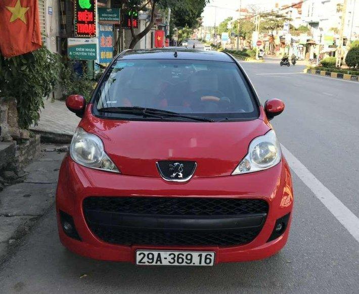 Bán nhanh chiếc Peugeot 107 sản xuất 2011, nhập khẩu nguyên chiếc0