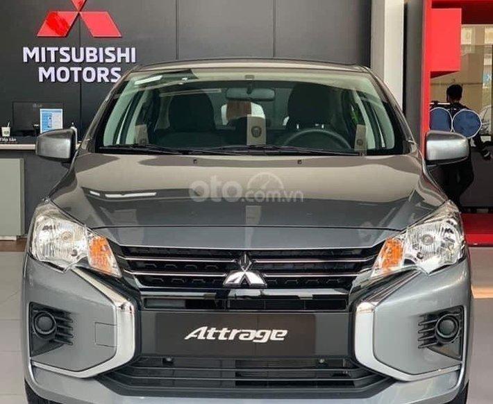 Bán xe Mitsubishi Attrage 2021 giảm 50% thuế trước bạ, đủ màu sẵn xe giao ngay0