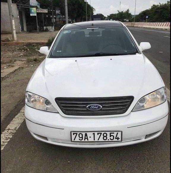 Cần bán lại xe Ford Mondeo sản xuất 2003, màu trắng, giá 140tr0