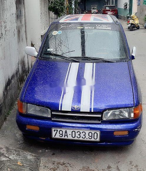 Bán Daewoo Tico sản xuất 1994, màu xanh lam, xe nhập chính chủ, 60 triệu0