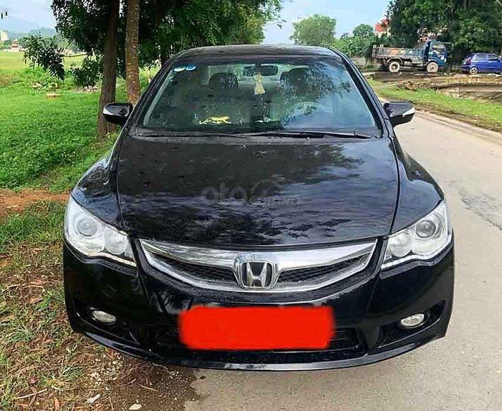 Bán Honda Civic năm sản xuất 2007, màu đen còn mới, 245 triệu0