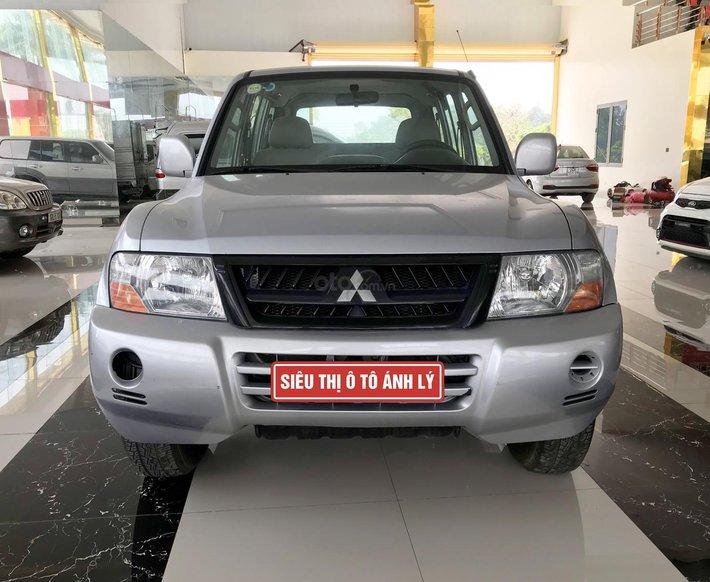 Cần bán xe Mitsubishi Pajero năm sản xuất 2006, màu bạc, nhập khẩu nguyên chiếc0
