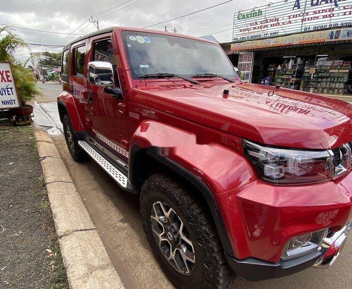 Bán BAIC BJ40 năm sản xuất 2019, màu đỏ còn mới2