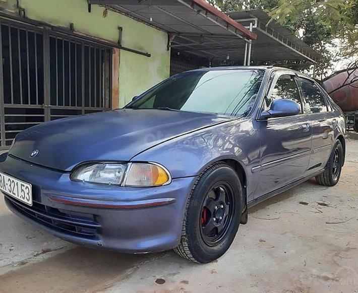 Bán xe Honda Civic sản xuất năm 1995, màu xanh lam, nhập khẩu 0