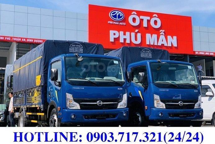 Xe tải Nissan 1T9 mới 2020, xe tải Nissan, Vinamotor Cabstar 1T9 mới 2020, giá ưu đãi0