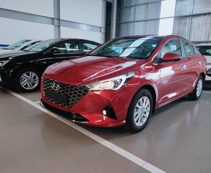 Hyundai Miền Nam bán Hyundai Accent năm 2021, xe đủ màu, trả góp 85% giá trị xe, tặng gói phụ kiện chính hãng0