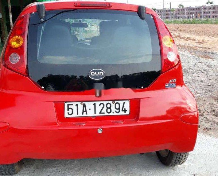 Cần bán gấp BYD F0 sản xuất năm 2011, màu đỏ, nhập khẩu2