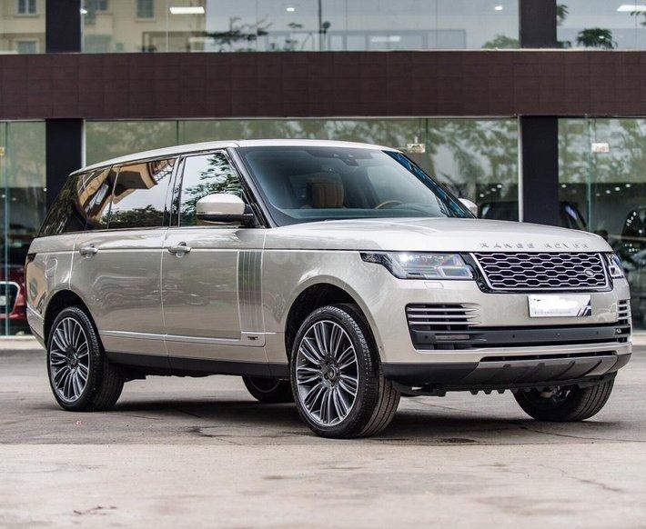 TF1 Auto đang chào bán Land Rover Range Rover Autobiography LWB 3.0, 2021 màu vàng cát, nội thất nâu0
