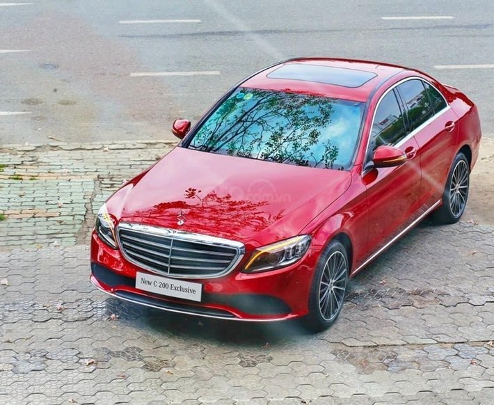Bán xe Mercedes C 200 đời mới 2021, đưa trước 20% nhận xe ngay, cam kết giá tốt nhất khu vực miền Nam2