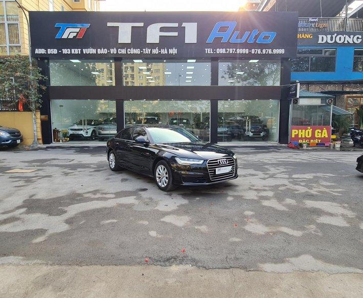 [TF1 Auto] bán Audi A6 1.8L TFSI sản xuất 2015, đăng ký 2016, màu đen0