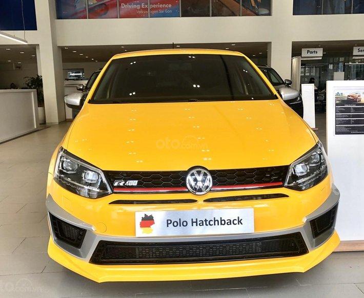 Volkswagen Polo HB lướt 7000km, đăng ký 2020, xe Đức nhập Volkswagen Polo đẹp 99% tự động0