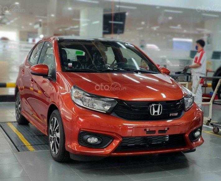 Honda Brio 2021 giao ngay - giá tốt nhất thị trường - giảm ngay 15tr - liên hệ Honda Ôtô Hải Phòng nhận báo giá đặc biệt0