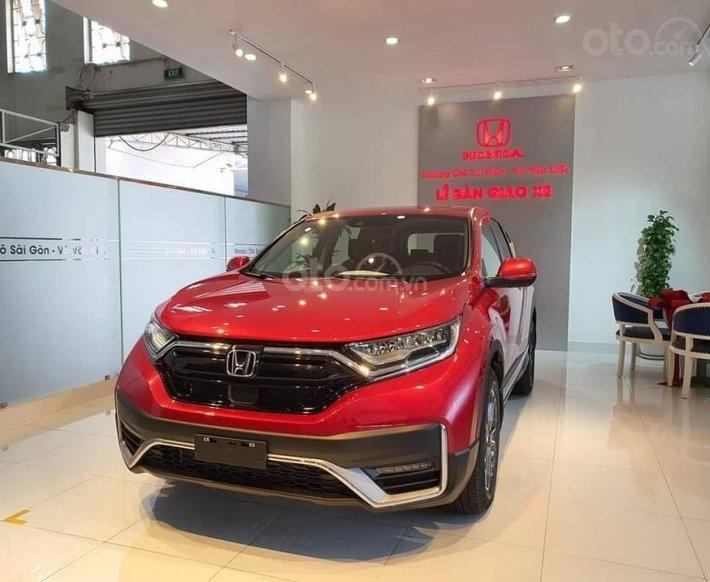 Honda Hải Phòng - New Honda CRV + giảm 1xxtr, giảm 100% phí trước bạ, hỗ trợ trả góp 80%, đủ màu, giao xe nhanh chóng0