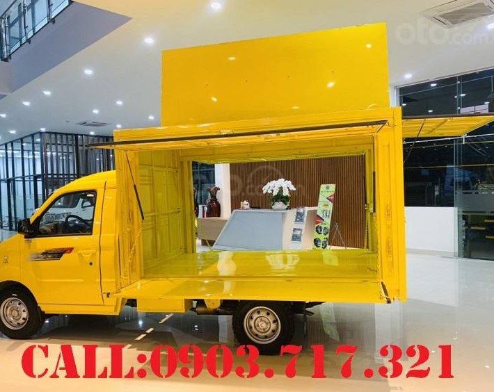 Bán xe tải Kenbo 900kg thùng cánh dơi giao xe ngay, giá tốt hỗ trợ trả góp qua ngân hàng2