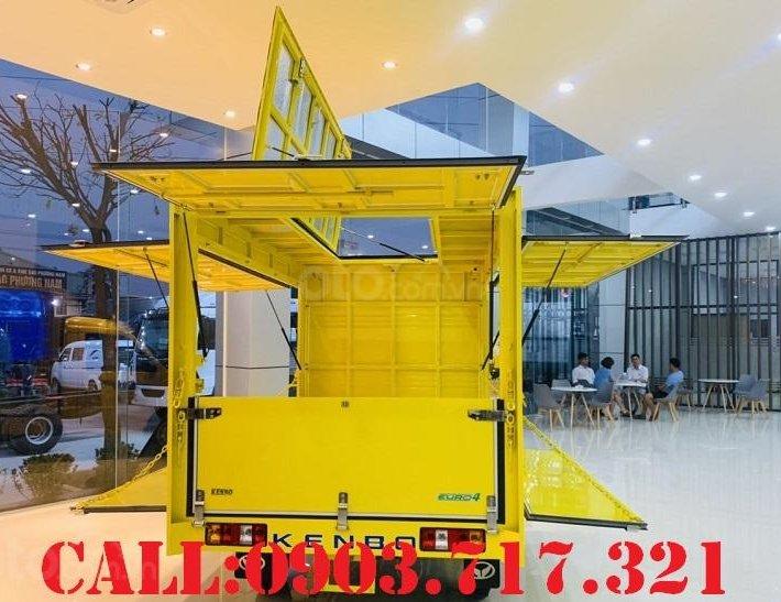 Bán xe tải Kenbo 900kg thùng cánh dơi giao xe ngay, giá tốt hỗ trợ trả góp qua ngân hàng5