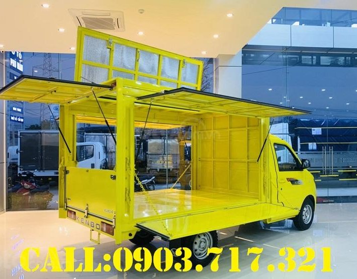 Bán xe tải Kenbo 900kg thùng cánh dơi giao xe ngay, giá tốt hỗ trợ trả góp qua ngân hàng6