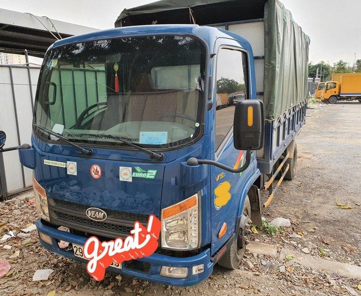 Bán ĐG xe tải Veam sx 2017 thùng 6m0