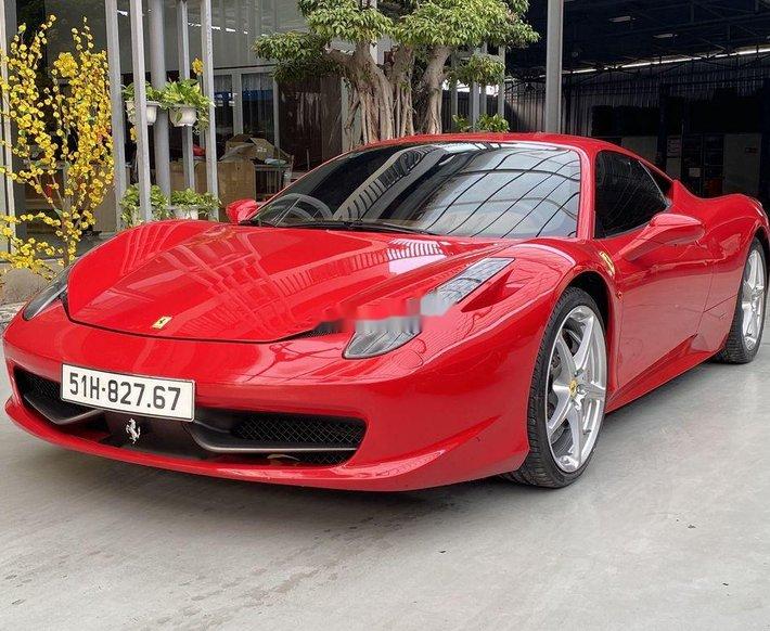 Xe Ferrari 458 sản xuất năm 2010, xe nhập còn mới0