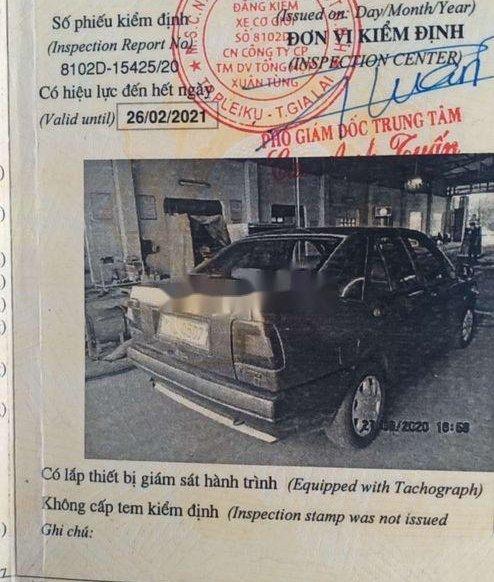 Cần bán gấp Fiat Tempra đời 1988, nhập khẩu nguyên chiếc2