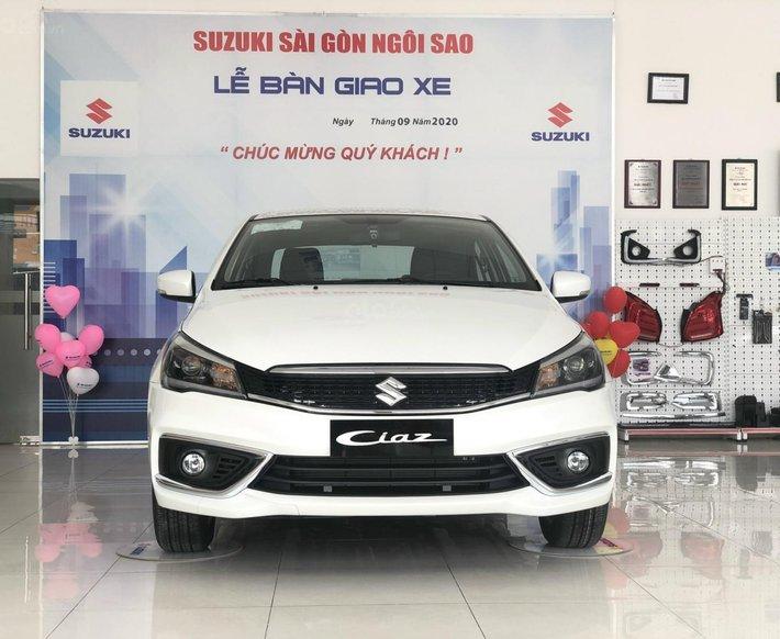 Suzuki Sài Gòn Ngôi Sao - Suzuki Ciaz 2021 giá tốt nhất miền Nam - ưu đãi tiền mặt 45tr, trả góp 85%, giao xe tận nhà0