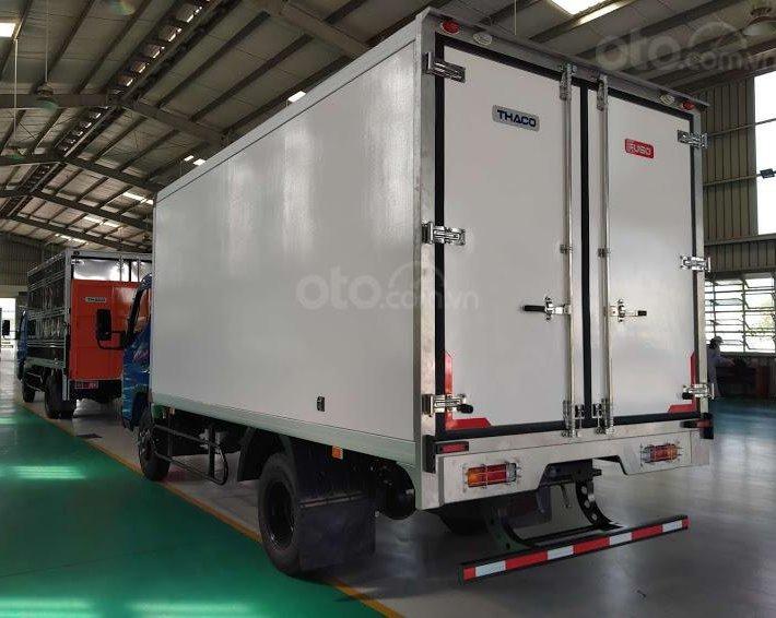 Thaco Phan Thiết - Bình Thuận bán xe tải Fuso Canter 6.5 đông lạnh năm sản xuất 20201