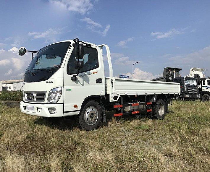 Thaco Phan Thiết - Bình Thuận cần bán xe tải Thaco OLLIN700 thùng lửng năm 20212