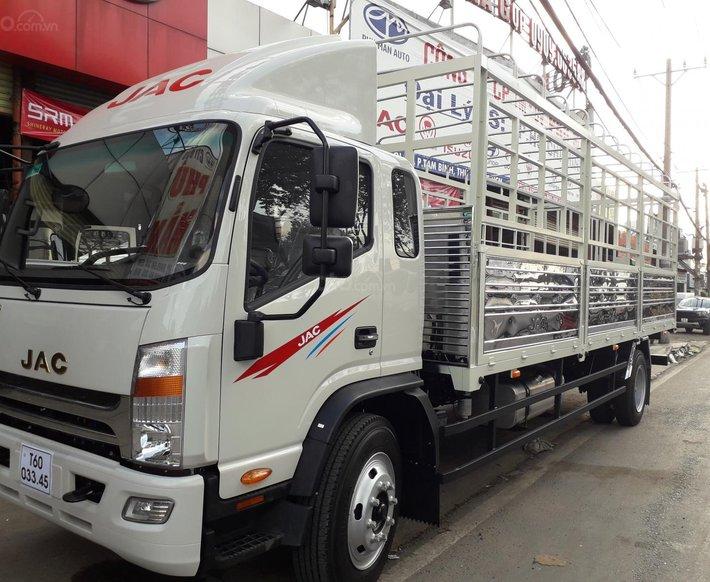 Xe tải JAC N900 9 tấn thùng dài 7m, đặt cọc giảm ngay 10tr ngày khai trương 01/04 20211