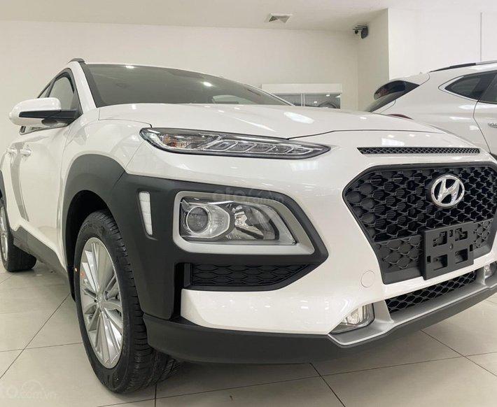 Hyundai Cầu Diễn bán Hyundai Kona 2021 trắng, giảm 10 triệu, nhiều ưu đãi1