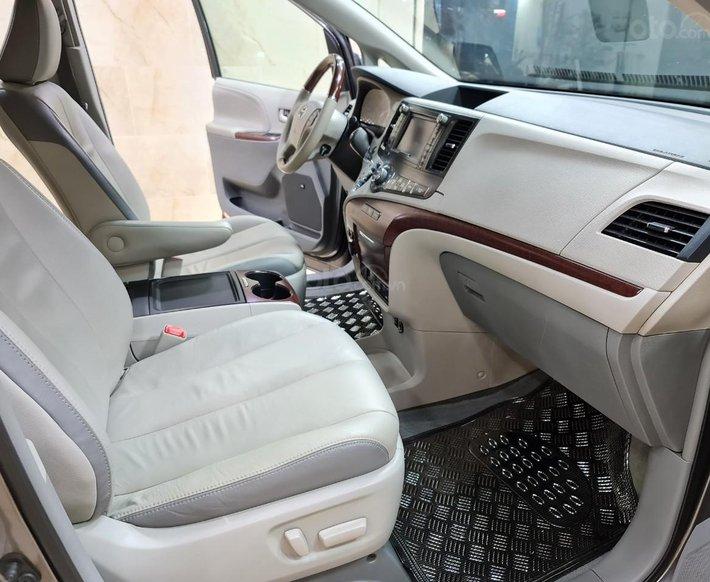 Toyota Sienna Limited 3.5, xe nhà trùm mền không chạy còn mới toanh, toàn bộ còn zin theo xe8