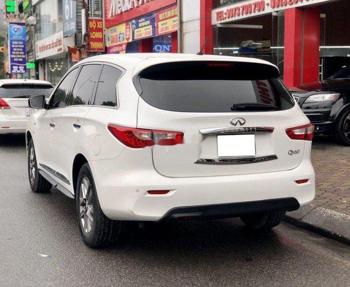 Cần bán lại xe Infiniti QX60 sản xuất năm 2014, màu trắng, xe nhập0