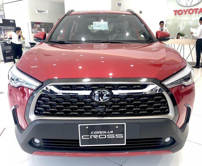Toyota Cross 2021 nhập khẩu, đủ màu, giao ngay, 265tr có xe0
