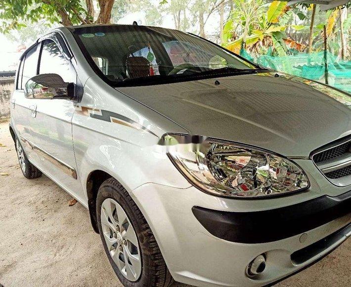 Xe Hyundai Getz đời 2008, màu bạc, nhập khẩu3