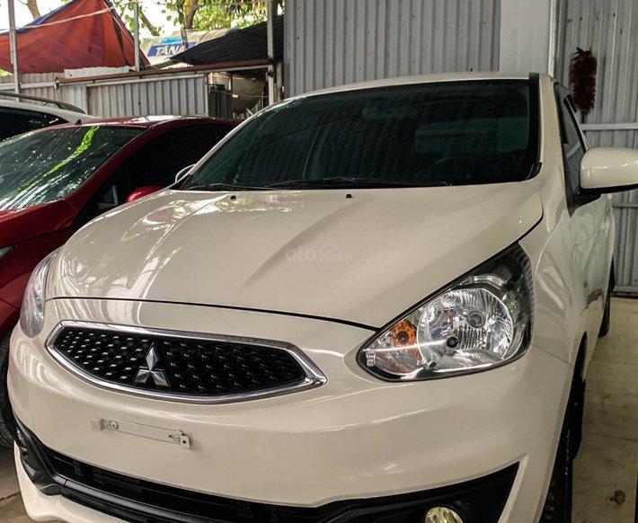 Bán ô tô Mitsubishi Mirage sản xuất năm 2017, màu trắng, giá tốt1