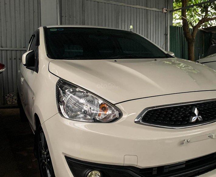 Bán ô tô Mitsubishi Mirage sản xuất năm 2017, màu trắng, giá tốt6