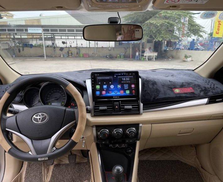 Cần bán Toyota Vios 1.5E MT năm 2017, màu vàng cát, còn mới, giá chỉ 405 triệu6