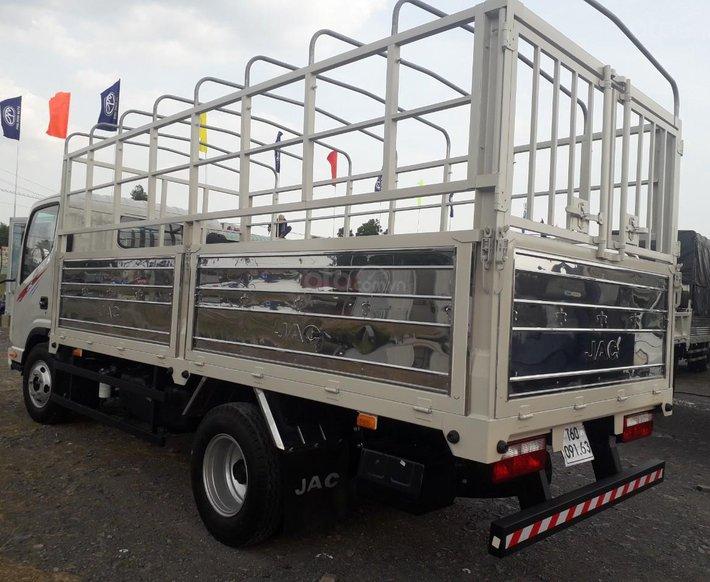 Xe tải JAC N350 3T5 thùng dài 4,3m, động cơ Isuzu cabin vuông, trả trước 100tr nhận xe1